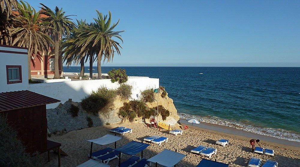 Prima Klima an der Algarve, wie hier in Armacao-de-Pera