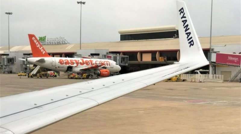 Airport Faro mit Ryanair und Easyjet