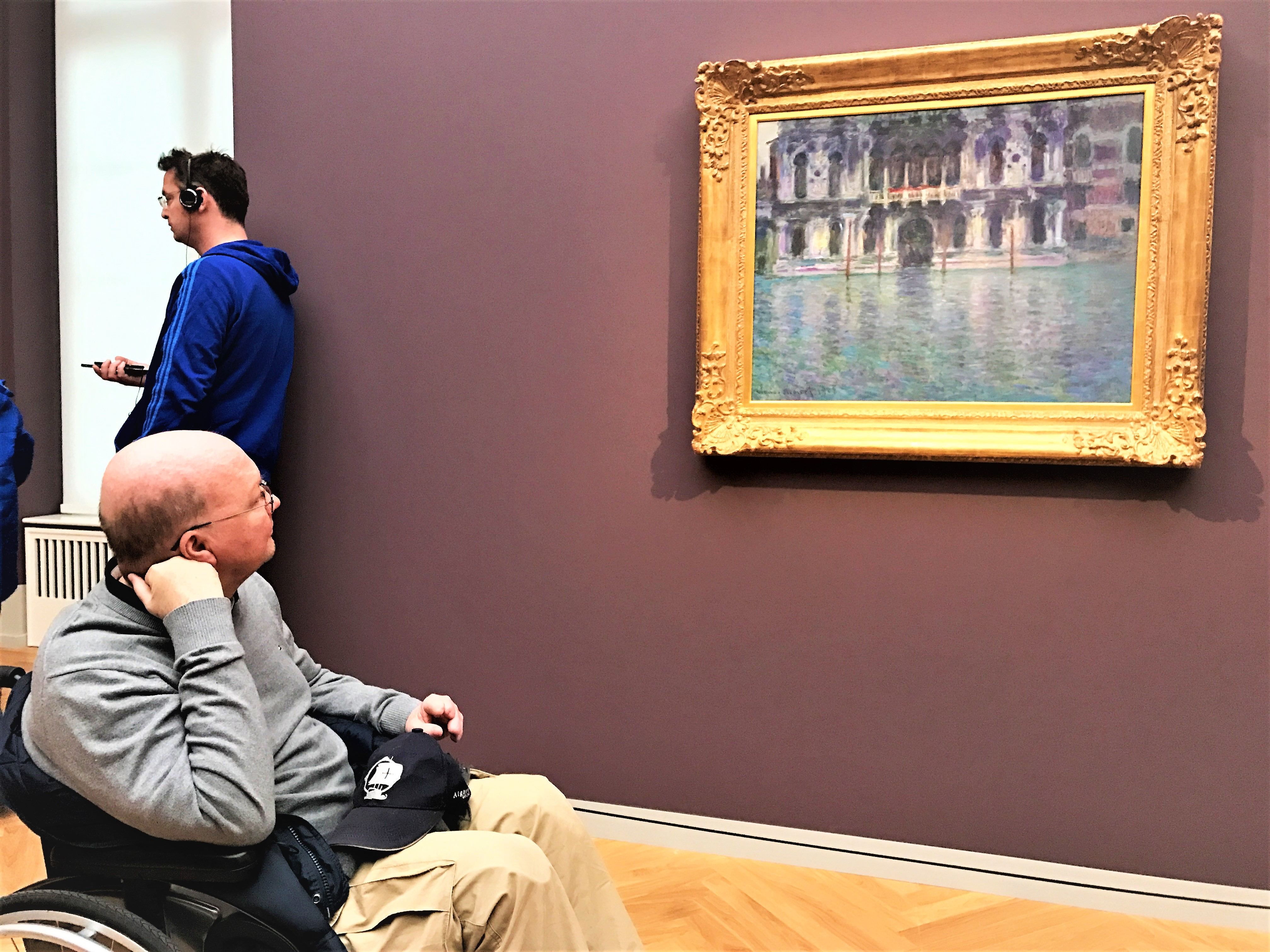 Alexander Kroll im Museum Barberini in Potsdam