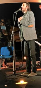 Jazz-Sänger Salvador Sobral beim Lagoa Jazz Fest 2017 an der Algarve