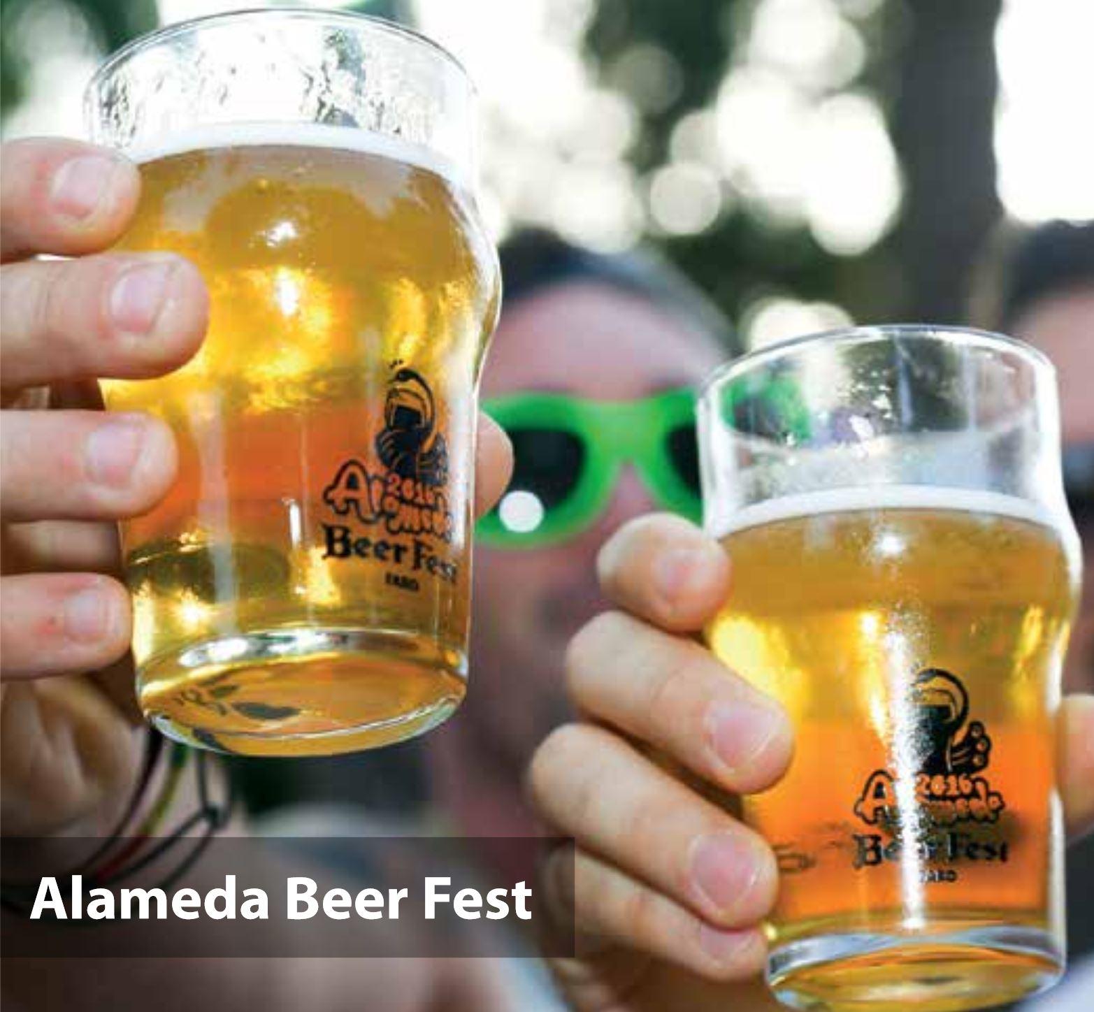 Alameda Beer Fest 2017 im Juli in Faro, Algarve