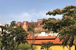 Algarve, Silves, Burg, Waldbrand, 2017,