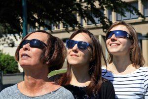 Gute Sonnenbrille für das Licht der Algarve