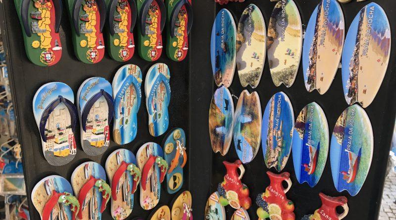 Souvenirs für Portugiesen an der Algarve