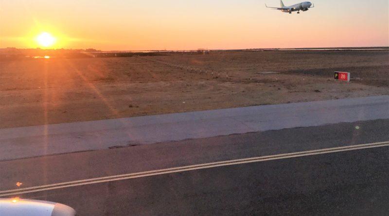 Faro Flughafen lässt Anflüge und Abflüge zum Erlebnis werden