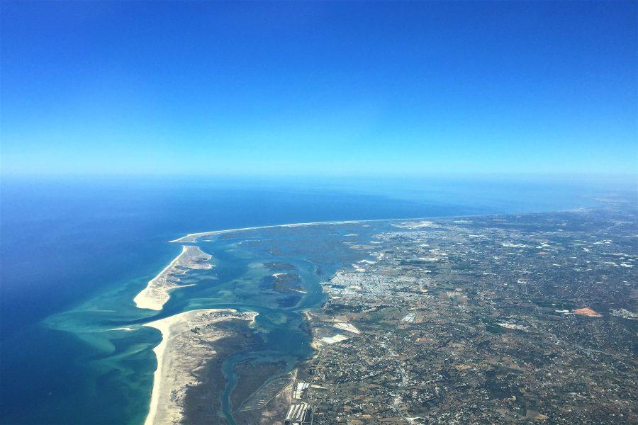 Faro an der Algarve anzufliegen, übt auf Piloten hohen Reiz aus