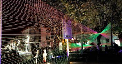 Lichtfestival LUZA 2017 an der Algarve in Loule