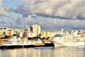 Algarve-News Kreuzfahrtpassagiere Portimao