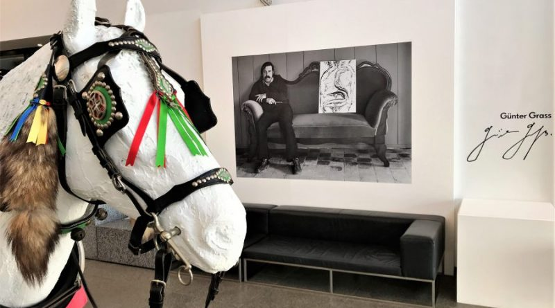 Günter Grass Ausstellung im Museum von Portimao über Liebe zur Algarve