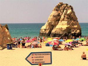 Reisewetter Algarve im Sommer für Strandurlaub in Portugal ideal