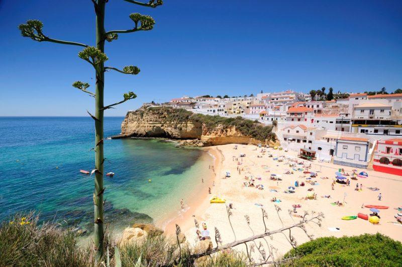 Algarve News über Strände mit blauer Flagge wie in Carvoeiro