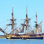 Segel-Legende Hermione an der Algarve