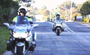 Algarve-Polizei im Einsatz für Motorradfahrer-Treffen in Faro