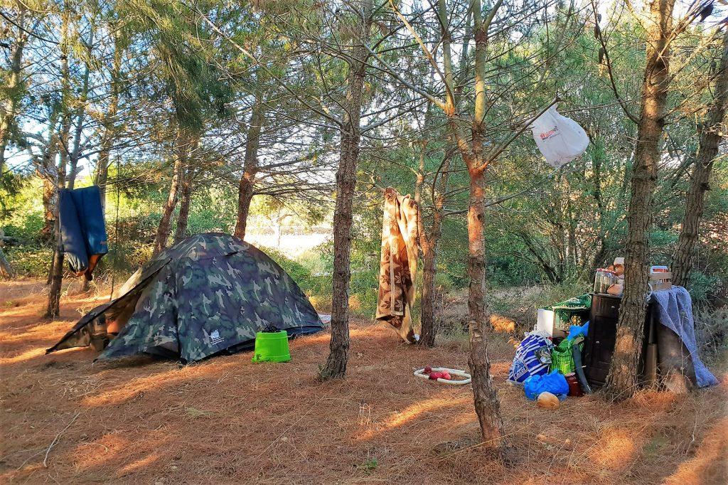 Algarve News zu Robert Nestmanns Zelt in der Nähe von Lagos
