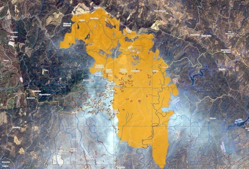 Algarve-Feuerwehr wird von EU-Satellitenbeobachtungsprogramm Copernicus unterstützt