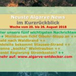 Algarve News: 20. bis 26. August 2018