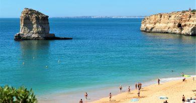 Algarve-Touristiker sehen keine Rauchwolken der Waldbrände mehr an den Stränden