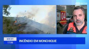 Gluthitze an der Algarve verschärft Waldbrandbekämpfung bei Monchique