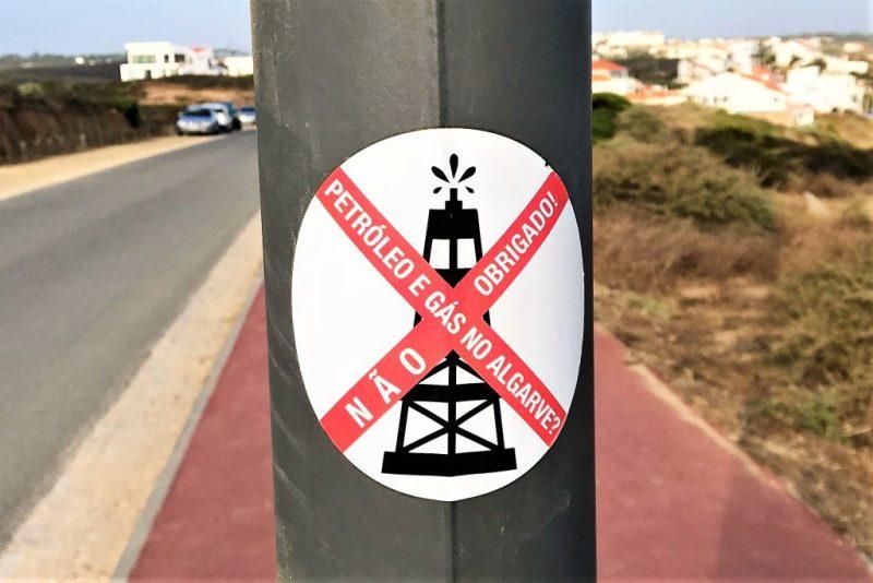 Fossile Brennstoffe vor Aljezur zu suchen wollen Öl-Gegner mit einer Kampagne verhindern