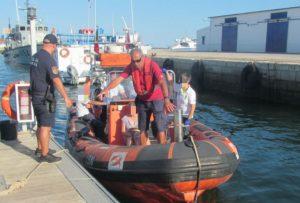 Algarve News über Rettung für deutschen Schwimmer bei Olhao an der Algarve