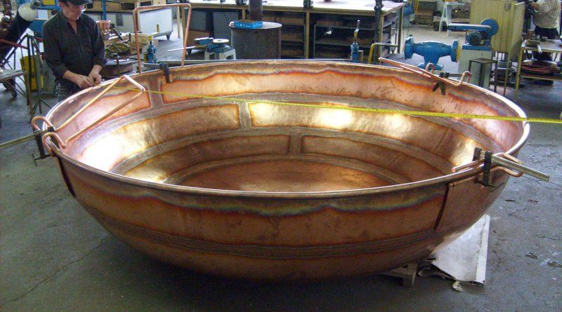 Cataplana Rekordhalter ist ein Kupfertopf aus Albufeira an der Algarve