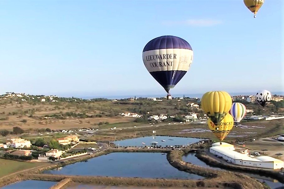 Algarve News über Ballonfahren an der Südküste Portugals