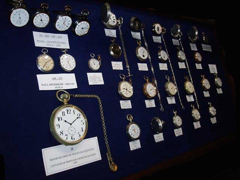 Museen im Alentejo zeigen zum Beispiel auch Uhren