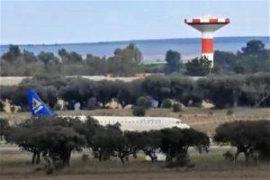 Notlandung eines Air Astana-Flugzeugs auf dem Alentejo-Flughafen in Beja