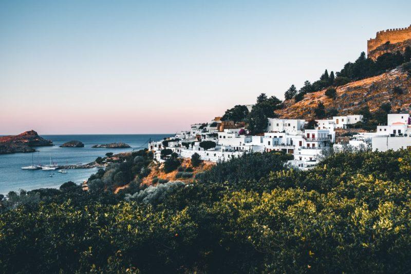 Sonnenstunden wies 2018 die Insel Rhodos am meisten auf