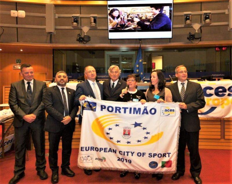 Algarve News zu Flagge für Europas Sportstadt 2019 Portimao