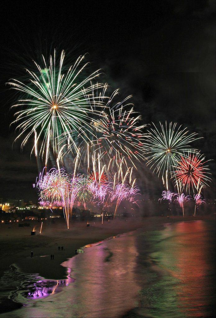 Algarve News über Silvesterfeuerwerke an Algarve-Stränden