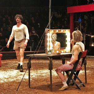 Zirkusfestival in Monchique mit Cirque Aital und Victor Cathala und Kati Pikkarainen