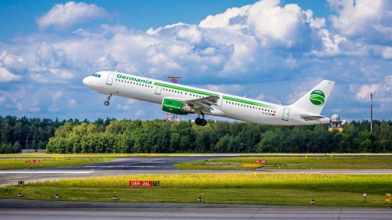Germania-Insolvenz führte zur Einstellung von Starts und Landungen am 5. Februar 2019