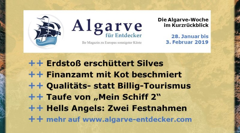 Algarve News und Portugal News aus KW 5 vom 28. Januar bis 3. Februar 2019