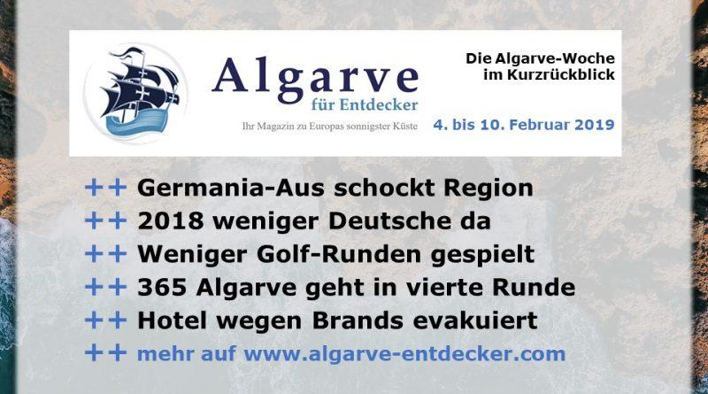 Algarve News und Portugal Newsaus KW 6 vom 4. bis 10. Februar 2019