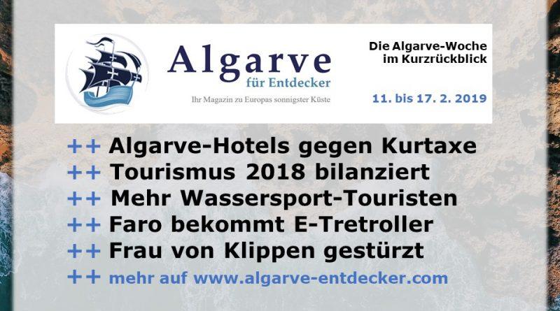 Algarve News und Portugal News aus KW 7 vom 11.bis 17. Februar 2019