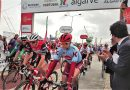 Algarve-Rundfahrt 2019 der Radrenn-Profis in Portimao gestartet