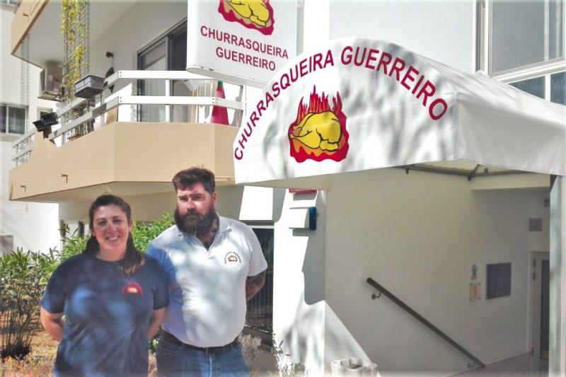 Guerreiro-Inhaber Peter Ellinger und Joana Mendonça