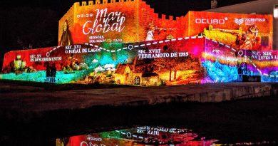 Algarve-Monumente werden per Videomapping zu visualisierten Museen