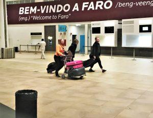 Algarve News zu Flughafen Faro und veränderten Sicherheitskontrollen wegen Brexits
