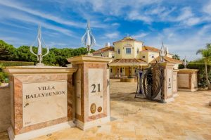 Luxus-Villa im Algarve-Resort Quinta do Lago beim Naturschutzgebiet Ria Formosa