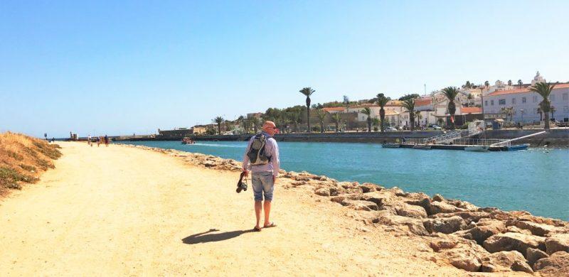 Lost in Fuseta-Autor Gil Ribeiro zu Besuch in der Algarve-Hafenstadt Lagos