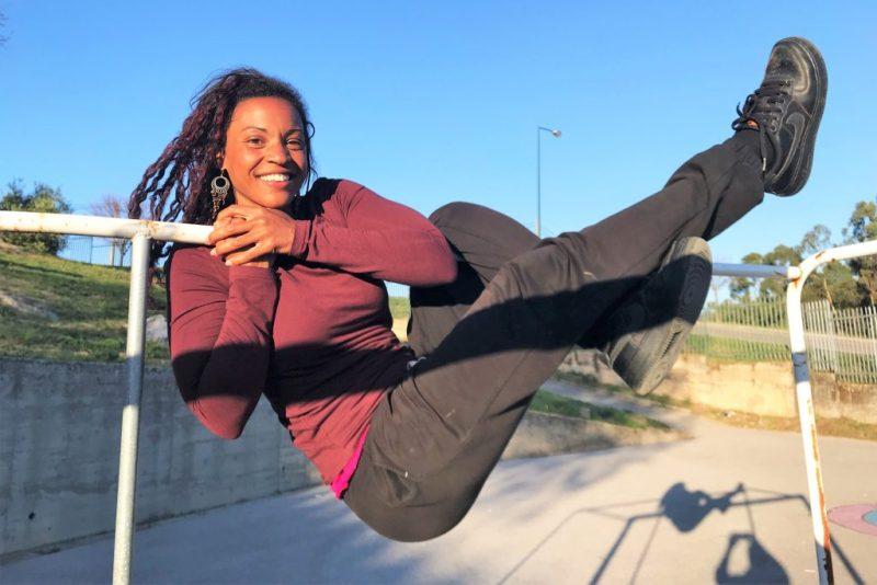 Drahtseilakt geht bei Tatiana Mosio Bongonga mit Spaß, Humor und Gelassenheit einher