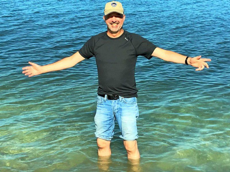 Lost in Fuseta-Autor Gil Ribeiro an der Atlantikküste der Algarve