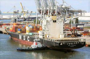 Sines erlebt Unfall bei Betankung des Container-Schiffs MSC Sandra