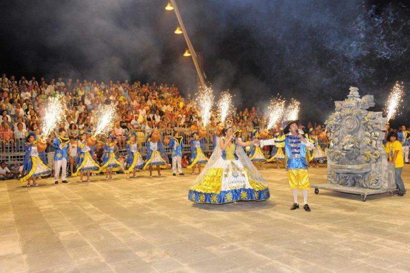 Algarve-Juni 2019 mit Fest für Volksheilige in Tavira