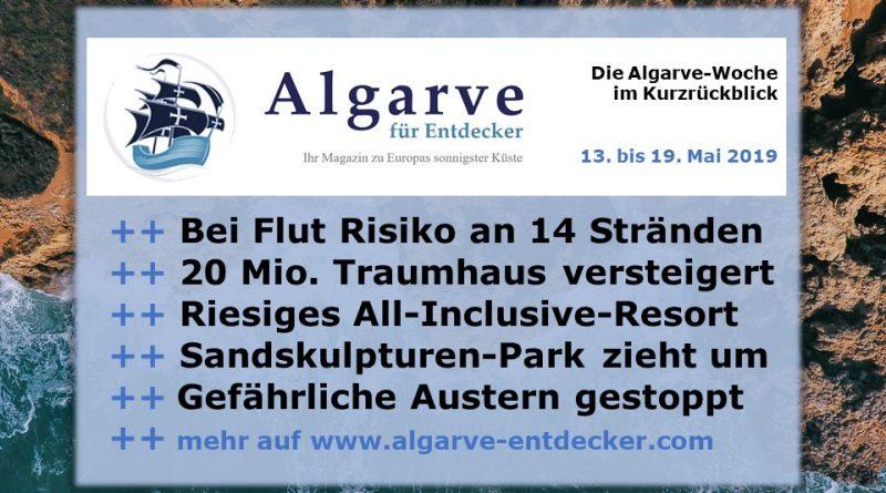 Algarve News und Portugal News aus KW 20 vom 13. bis 19. Mai 2019