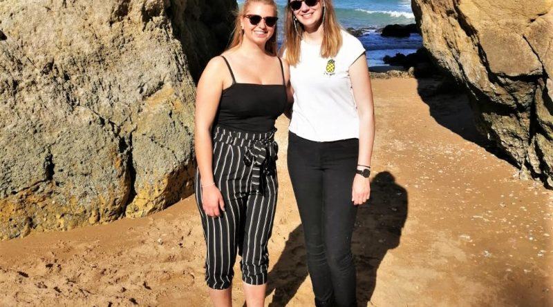 Studieren, wo andere Algarve-Urlaub machen: Elisabeth Kürsten und Katja Cramm aus Hannover