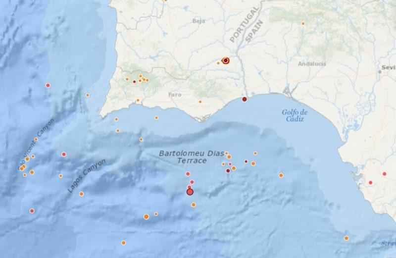 Algarve News zu leichten Erdstößen am Atlantik