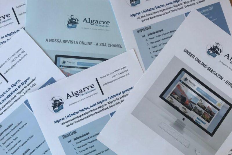 Medienmarkt der Algarve durch deutsches Online-Magazin in Bewegung